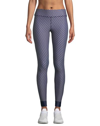 Kravat Printed Yoga Pants