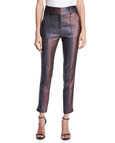 Lago Metallic Pintuck Trousers