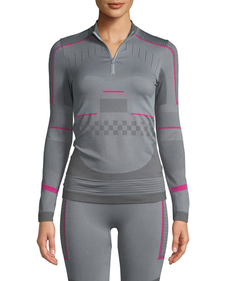 4d8186d92b adidas by Stella McCartney Training Seamless Long-Sleeve Performance Top