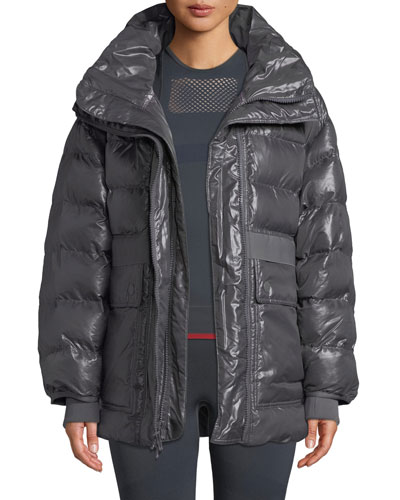 Training Zip-Front Parka Jacket