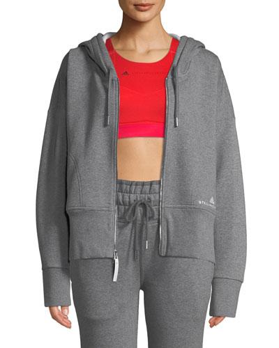 Essentials Zip-Front Hoodie Sweatshirt