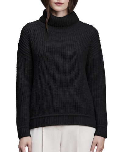 Williston Wool Turtleneck Sweater