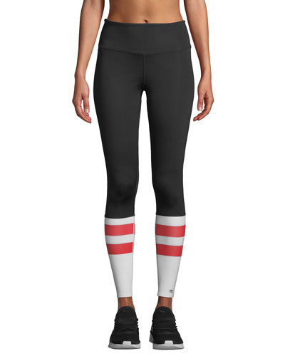 Victory High-Rise Colorblock Performance Leggings