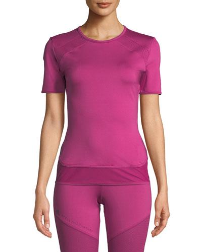 Performance Essentials Crewneck Short-Sleeve T-Shirt Top