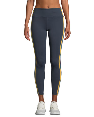 Side-Stripe High-Waist Activewear Tights