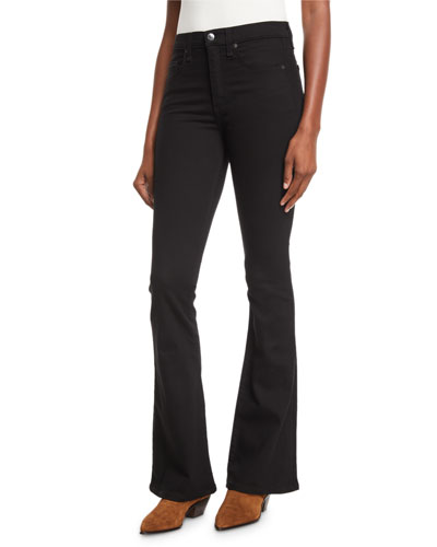Beverly Skinny Flare High-Rise Jeans