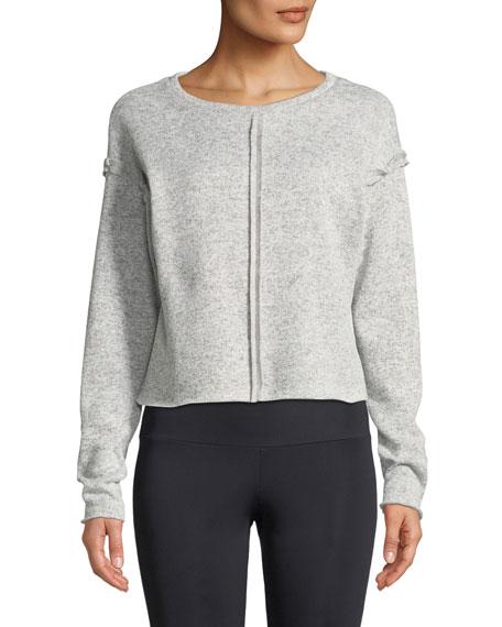 Onzie Raw-Seam Crewneck Sweatshirt