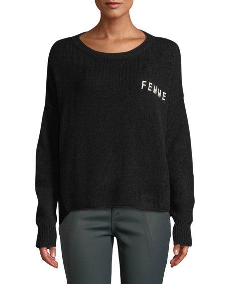 360 Sweater FEMME SCOOP-NECK CASHMERE SWEATER