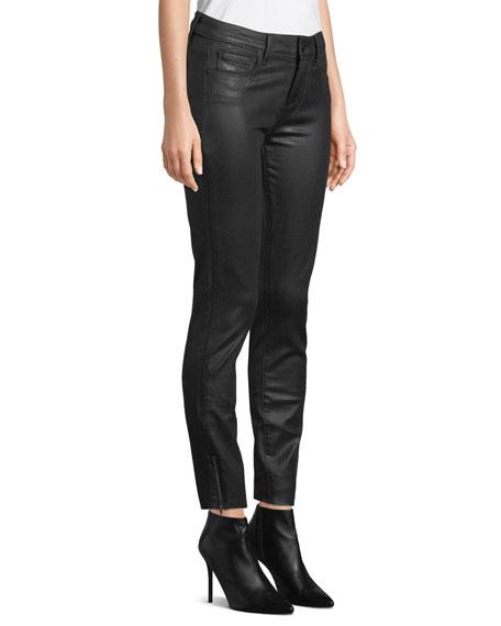 Verdugo Coated Ankle Skinny Jeans