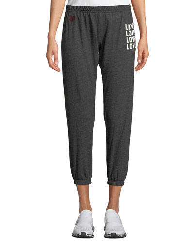 Love Graphic Jogger Sweatpants