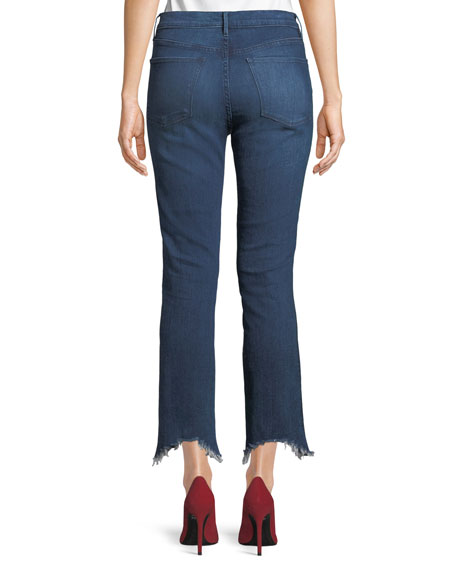 8e088815ff W3 High-Rise Authentic Straight-Leg Jeans