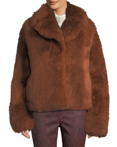 Dean Lamb Shearling Fur Coat