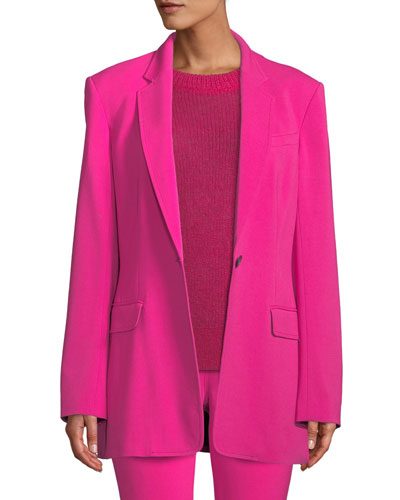 Vernay Single-Breasted Jacket