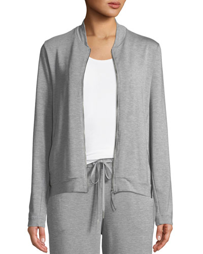 Balance Zip-Front Lounge Jacket