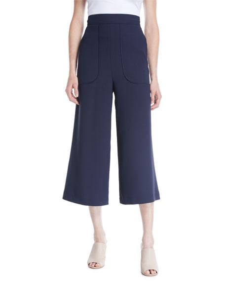 See by Chloe Cropped Wide-Leg Pants
