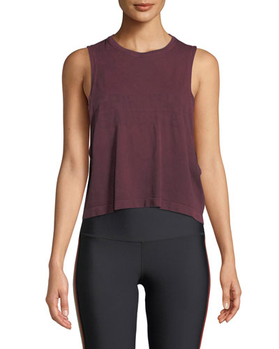Supernova Seamless Cropped Active Tank