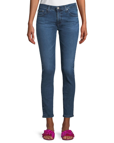 AG Prima Mid-Rise Ankle Skinny Jeans