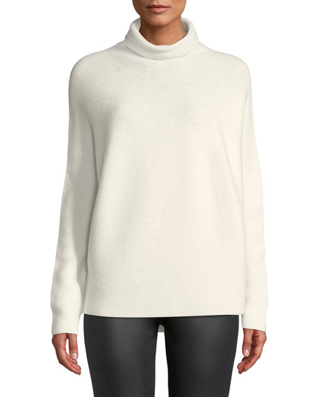 Christian Wijnants Kolkata Round-Knit Wool Turtleneck Sweater