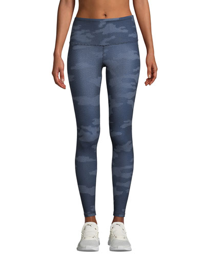 High-Rise Contoured Tech Activewear Tights