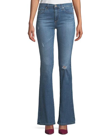 Angel 13 Years Mid-Rise Boot-Cut Jeans, 16 Years Perennial