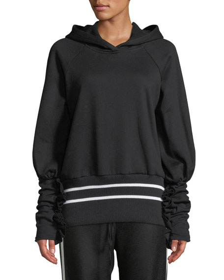 Maggie Marilyn Way Past Curfew Sporty Ruffle Pullover