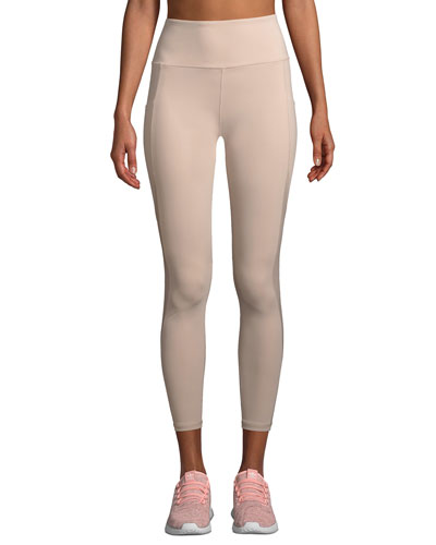 Clyde High-Rise Mesh Performance Tights