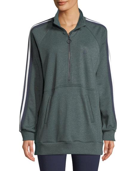 Athletics Zip-Neck Sweatshirt