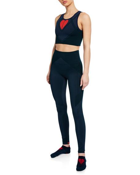 Seamless Sports Bra & Leggings Gift Set with Matching Socks