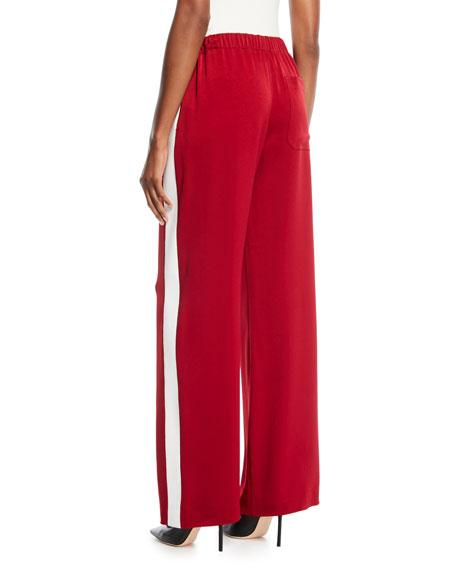 Kelly Side-Stripe Pull-On Pants
