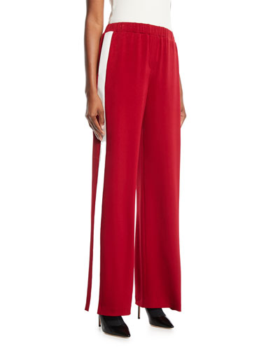 Kelly Side-Stripe Pull-On Pants