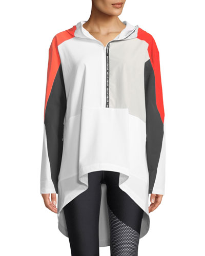 Unstoppable Woven Colorblock Anorak Jacket