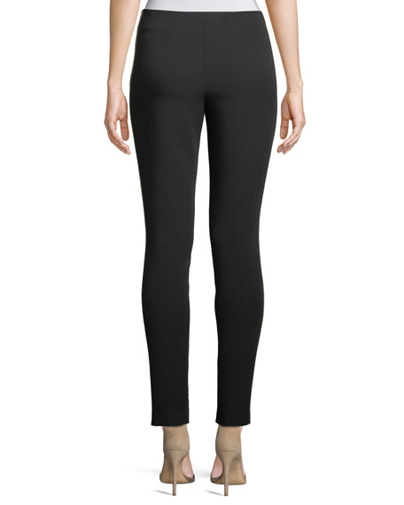 Kiana Ankle Leggings w/ Side Stripes