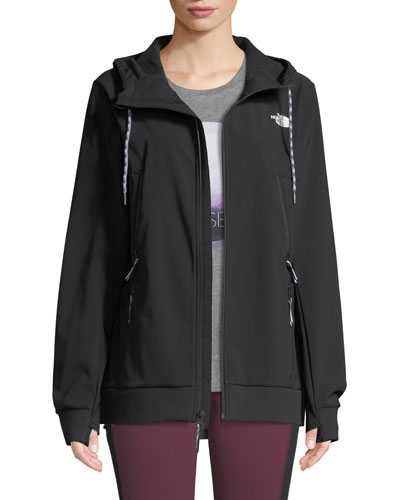 Tekno Zip-Front Activewear Hoodie