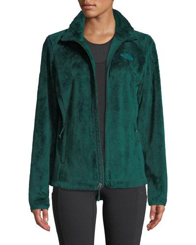 Osito Fleece Zip-Front Activewear Jacket