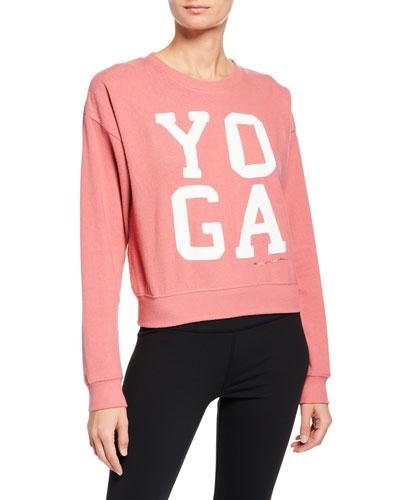 Yoga Malibu Crewneck Pullover Sweater