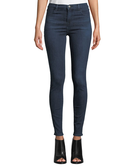 Maria High-Rise Skinny Ankle Jeans