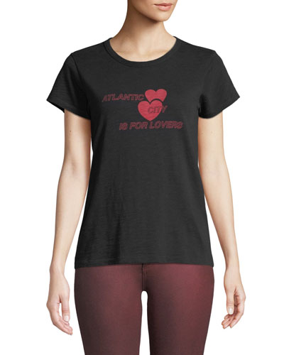 AC is for Lovers Crewneck Short-Sleeve Cotton Tee