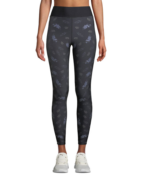 Ultracor ULTRA HIGH LAVENDER-PRINT PERFORMANCE LEGGINGS