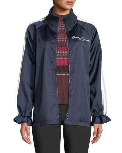Souvenir Reversible Zip-Front Track Jacket