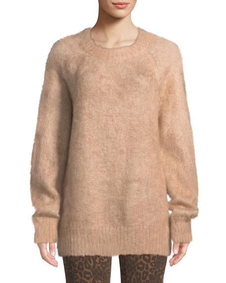 alexanderwang.t Mohair Crewneck Pullover Sweater