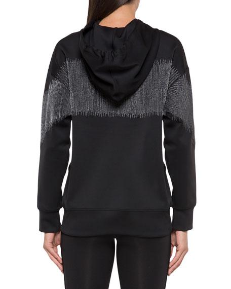 Titrate Scuba Metallic Pullover Hoodie