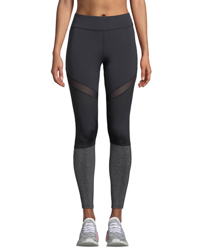 Arwen Metallic Mesh Performance Leggings