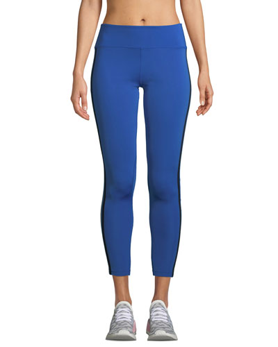 Mitchell Racer-Stripe Performance Leggings
