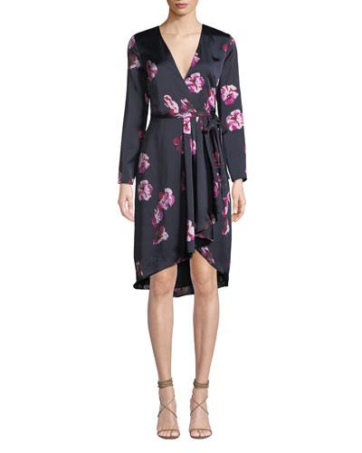 Miltona Floral Wrap Dress