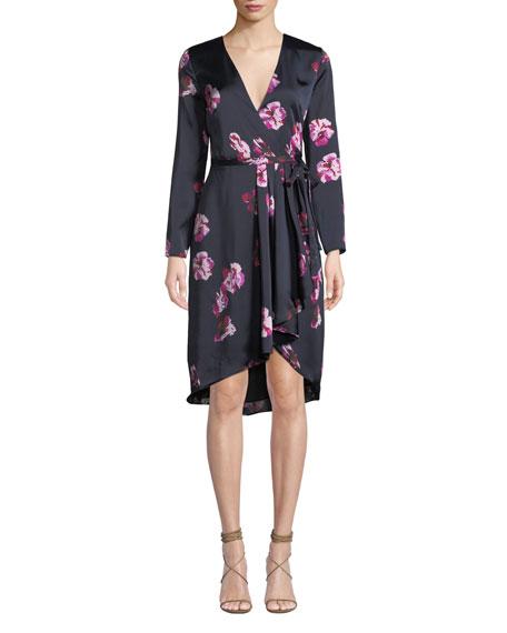 ec719d735b7 Joie Miltona Floral Wrap Dress