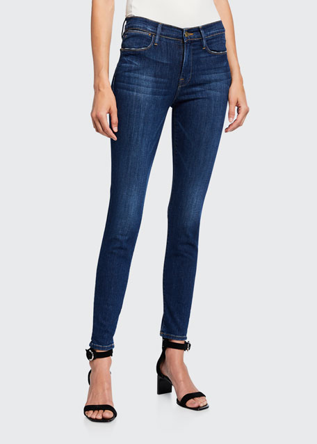 Le High Skinny Stretch Ankle Jeans
