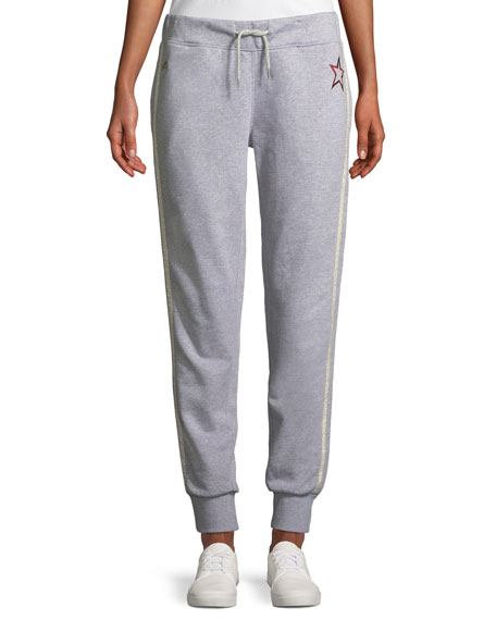 Lucky Jim Side-Stripe Jogger Track Pants