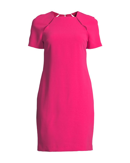 Kristiana Fitted Dress with Cutouts
