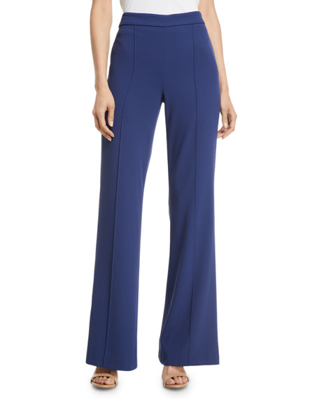 Jalisa High-Rise Fitted Flared Pants