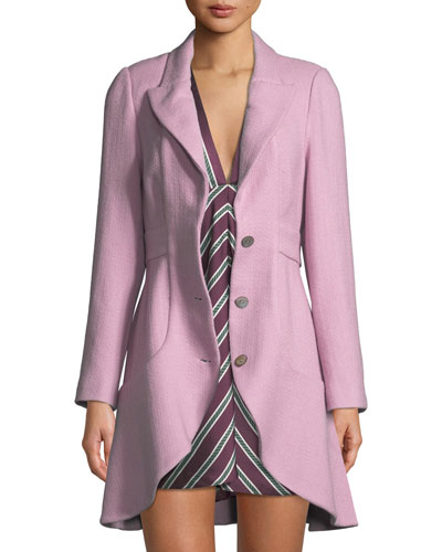 Dakota Wool Flounce Jacket